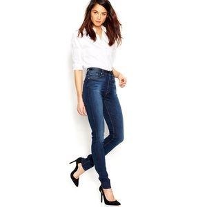 7 for all mankind kinda the high waisted skinny!